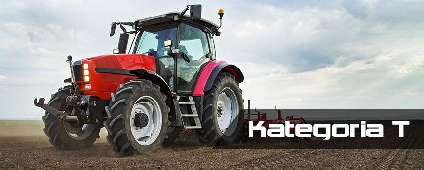 Kategoria prawa jazdy na ciągnik, traktor.