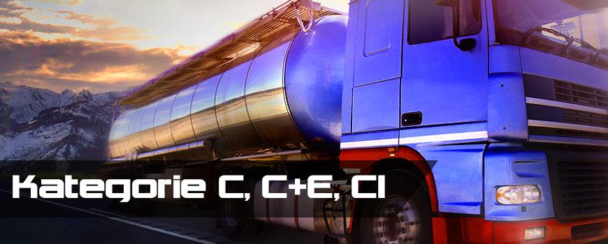 Kategorie prawa jazdy na samochód ciężarowy